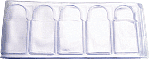 Frame-A-Coin 1oz Bar Sleeves -100 per pack