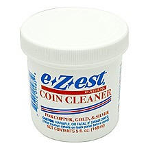 e-Z-est Jeweluster Coin Cleaner Dip  5oz