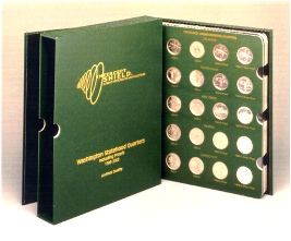 Intercept Shield Album - American Eagle Silver Dollars 1986-2003 (including proof only issues)
