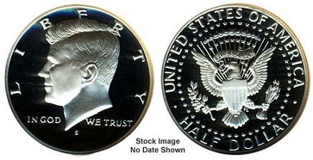 1978 S Proof Kennedy Half Dollar