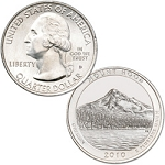 2010 Mount Hood National Park Quarter P
