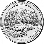 2011 Olympic Washington National Park Quarter D