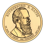 2011 Rutherford B Hayes Presidential D Mint Dollar