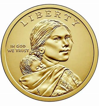 2002 Sacagawea Native American Dollar D