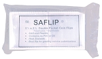 2.5 x 2.5 SAFLIP Coin Clear Double Pocket Flips 50 per pack