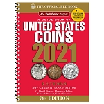 2021 Red Book U.S. Coins Spiral Cover Price Guide