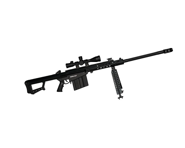 Mini .50cal - Black Barrett 82A1