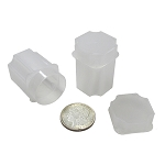 Individual Large Dollar Guardhouse Square Coin Storage Tubes