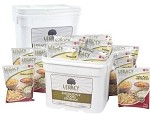 Premium 240 Serving Food Storage Emergency Bucket Legacy Food