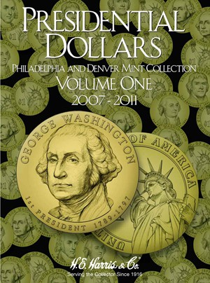 Presidential Dollars Volume 1 Harris Folder