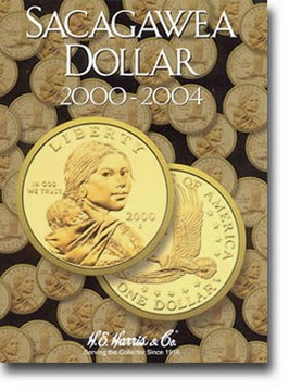 Sacagawea Dollar 2000-04 Harris Folder