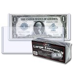 BCW Large Currency Top Loaders Pack of 25